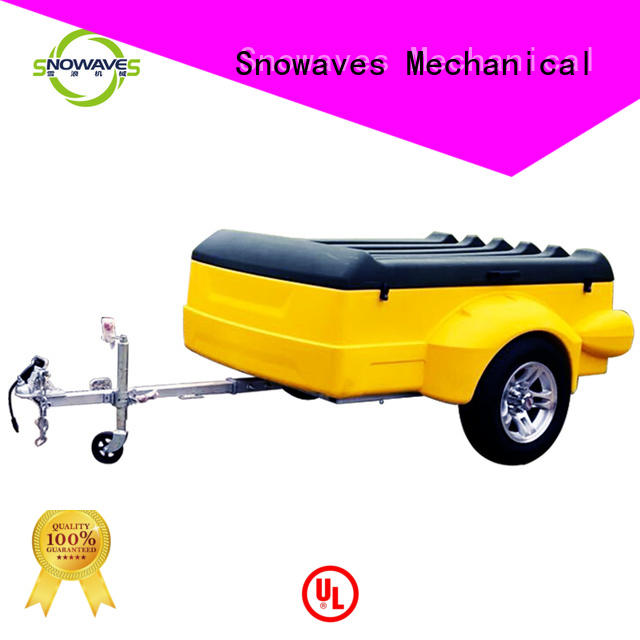 plastic utility trailer for wholesale for no cable