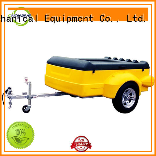 Custom luggage trailer plastic factory for outdoor activities