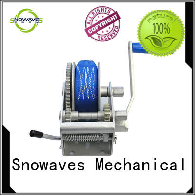 Snowaves Mechanical Best manual trailer winch for sale for car