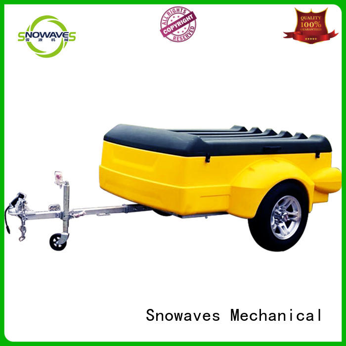 plastic utility trailer waterproof for outdoor activities Snowaves Mechanical