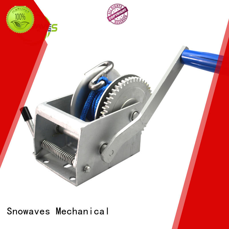 Snowaves Mechanical high-quality manual car winch hand for boat