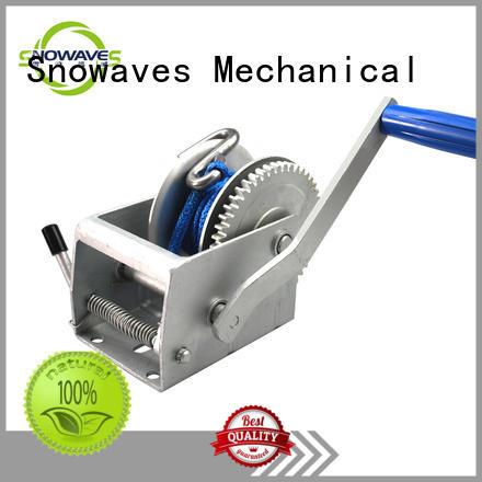 speed sealing hinge boat trailer hand winch Snowaves Mechanical Brand