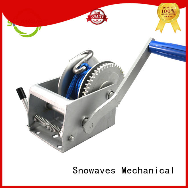 Latest manual winch factory for car