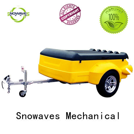 Snowaves Mechanical luggage plastic utility trailer manufacturers for webbing strap