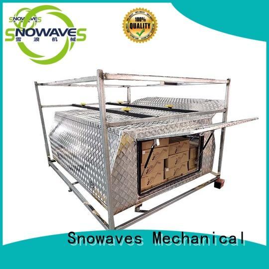 Wholesale aluminum truck tool boxes aluminum factory for camping