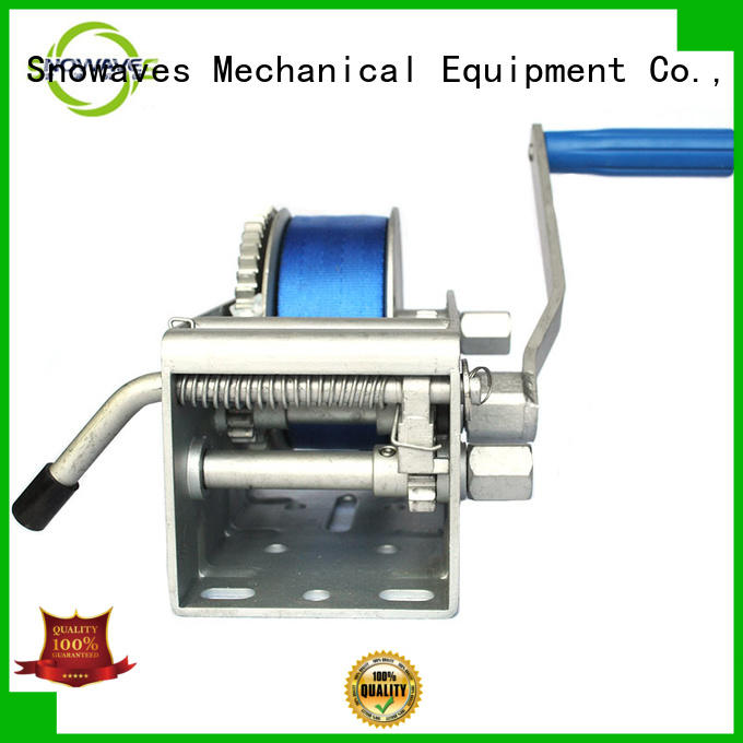 Snowaves Mechanical best Marine winch long-term-use for camp