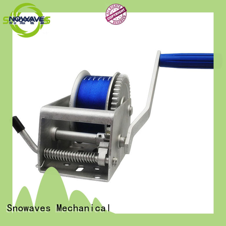 Snowaves Mechanical first-rate anchor winch for sale trailer for trips