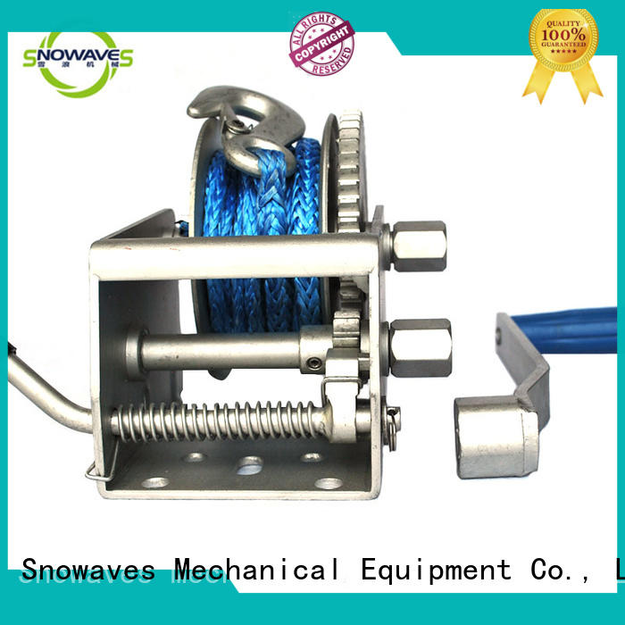 durable Marine winch for trips