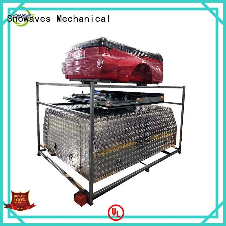 Snowaves Mechanical High-quality custom aluminum tool boxes company for camping