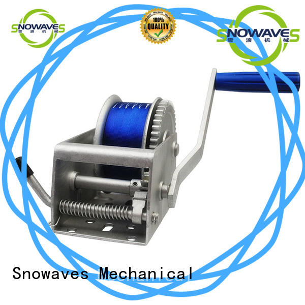 Snowaves Mechanical trailer Marine winch Suppliers for camping