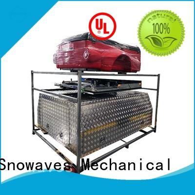 Snowaves Mechanical hot-selling aluminum trailer tool box truck for car