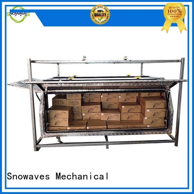 Snowaves Mechanical tool aluminum trailer tool box for business for car