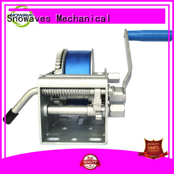 Snowaves Mechanical hand Marine winch manufacturers for one-way trips