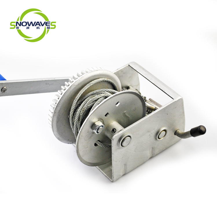 Snowaves Mechanical Wholesale manual winch suppliers for boat-3