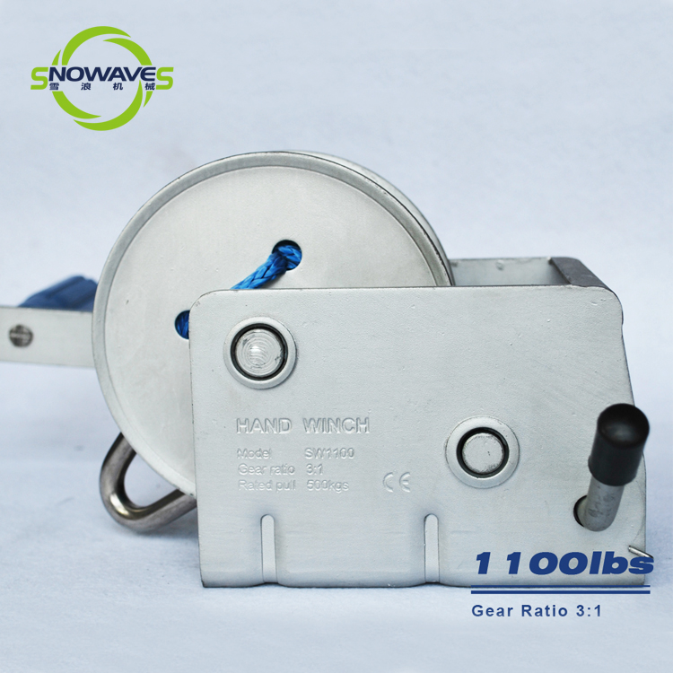 Snowaves Mechanical winch manual winch factory for car-4