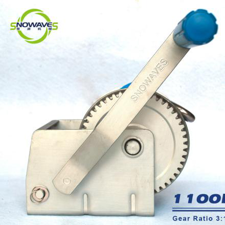 Snowaves Mechanical fine- quality hand powered winch for camping