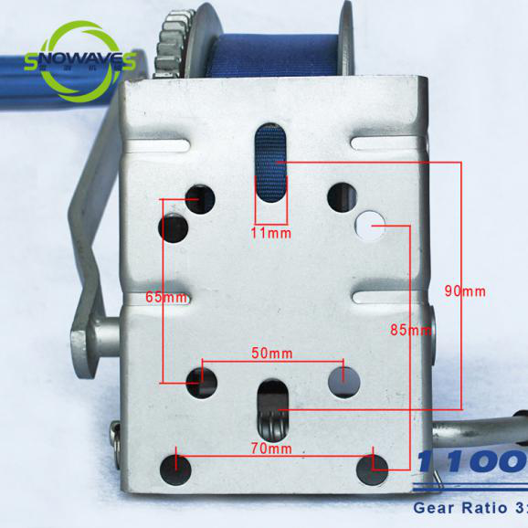 Snowaves Mechanical winch manual winch factory for car-6
