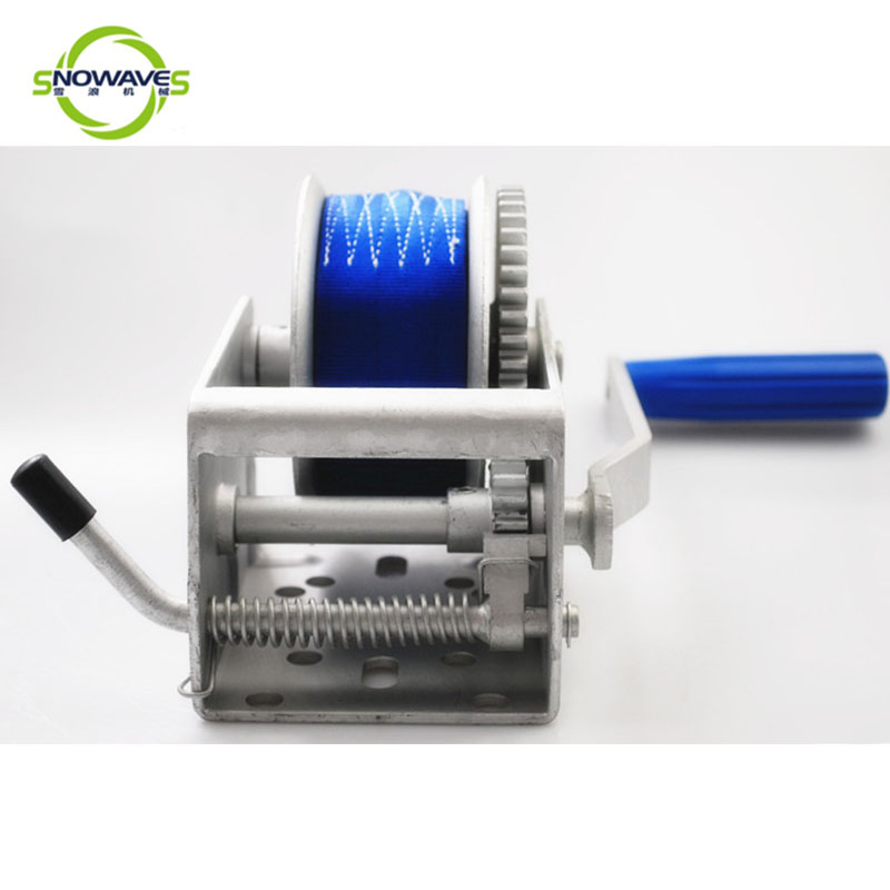 Snowaves Mechanical Wholesale marine winch manufacturers for trips-1