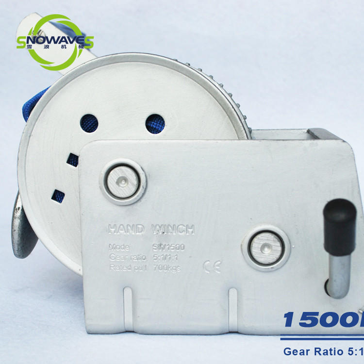 Snowaves Mechanical Wholesale marine winch manufacturers for trips