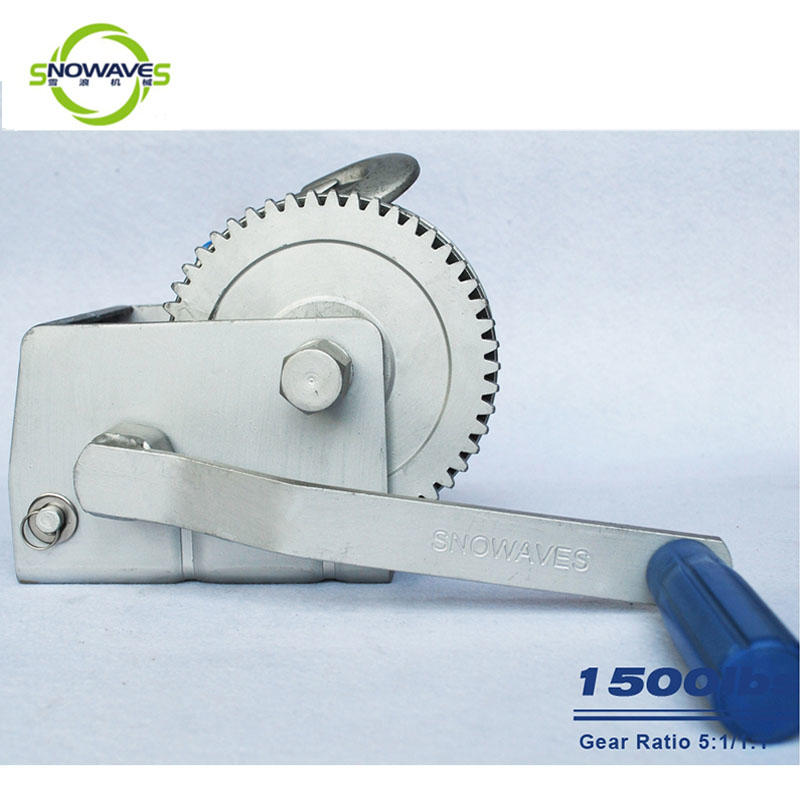 Snowaves Mechanical High-quality marine winch suppliers for one-way trips-3