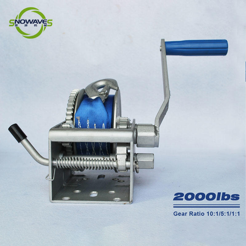 Snowaves Mechanical Custom marine winch for business for camping-2