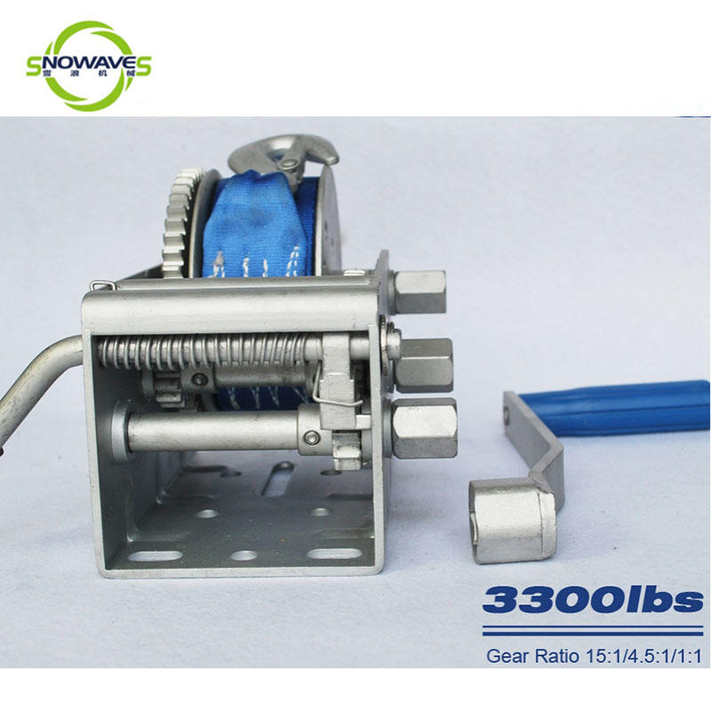 Snowaves Mechanical Custom marine winch supply for trips