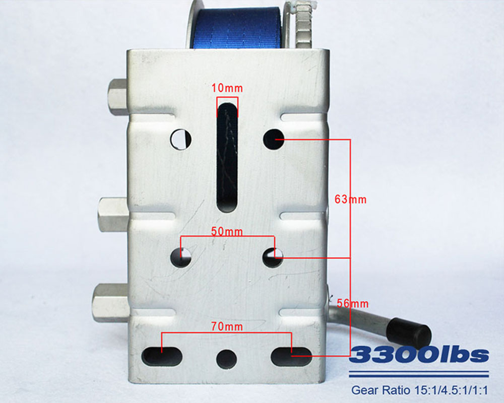 Snowaves Mechanical Best marine winch suppliers for camp-6