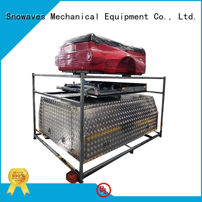 Snowaves Mechanical aluminum truck tool boxes Chinese factory for car