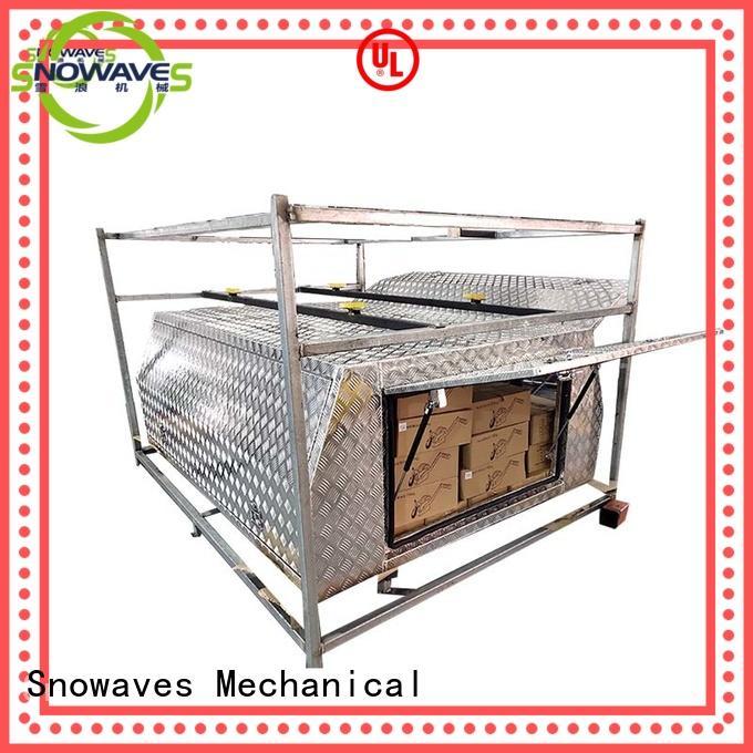 Wholesale touring aluminium tool boxes for caravans forward Snowaves Mechanical Brand
