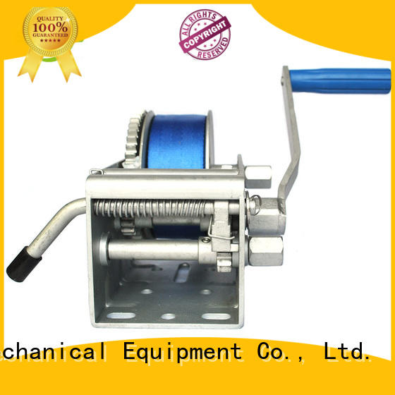 Snowaves Mechanical High-quality Marine winch company for camping