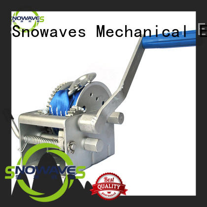 hand electric boat winch vendor for trips Snowaves Mechanical