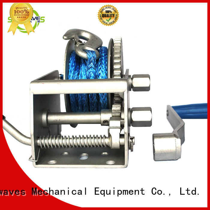 Snowaves Mechanical Custom marine winch for sale for one-way trips