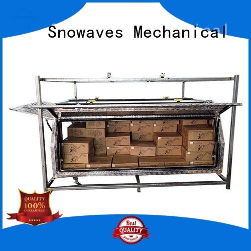 Snowaves Mechanical truck custom aluminum tool boxes company for picnics