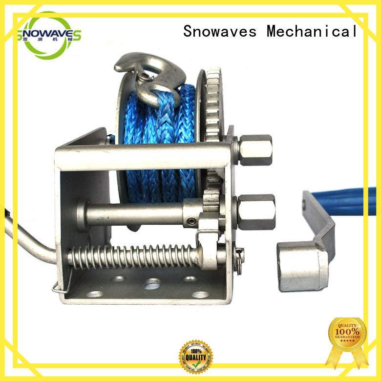 electric boat winch trailer for picnics Snowaves Mechanical