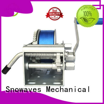 Snowaves Mechanical Marine winch factory for camping
