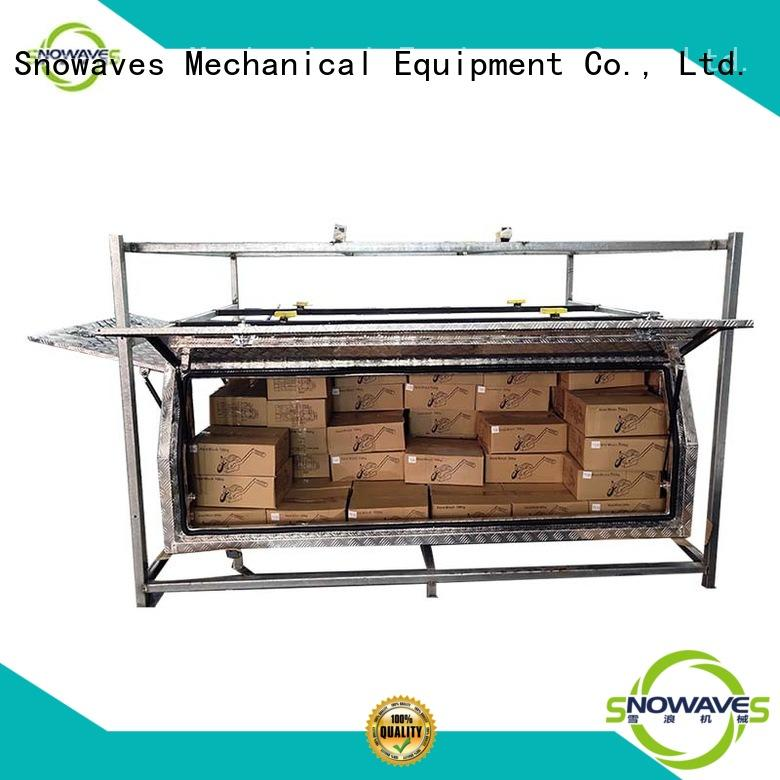 pickup aluminum trailer tool box truck for picnics Snowaves Mechanical