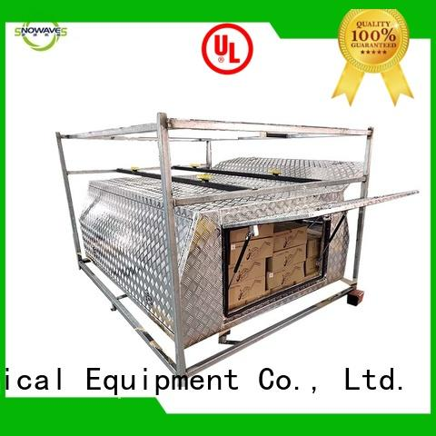 truck aluminum truck tool boxes Chinese factory for picnics Snowaves Mechanical