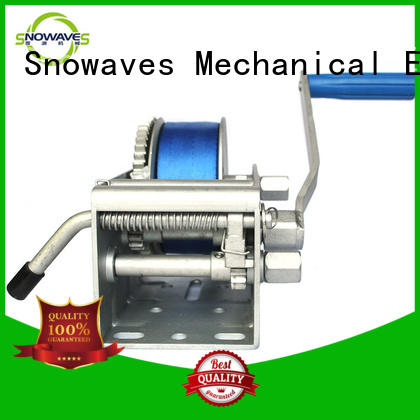Snowaves Mechanical High-quality Marine winch company for picnics