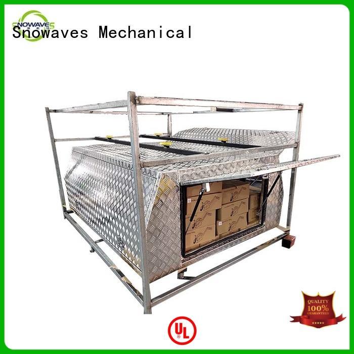 Snowaves Mechanical Best custom aluminum tool boxes for business for boat