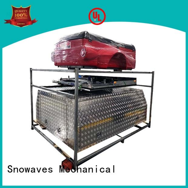 quality aluminium tool chest Chinese vendor for camping Snowaves Mechanical