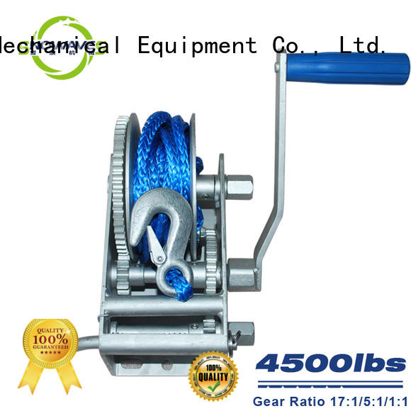 Trailer hand winch 17:1/5:1/1:1 (3 speed) 2000kg pulling SW4500