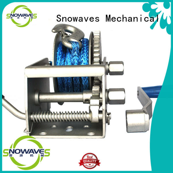 pulling electric boat winch hand for picnics Snowaves Mechanical
