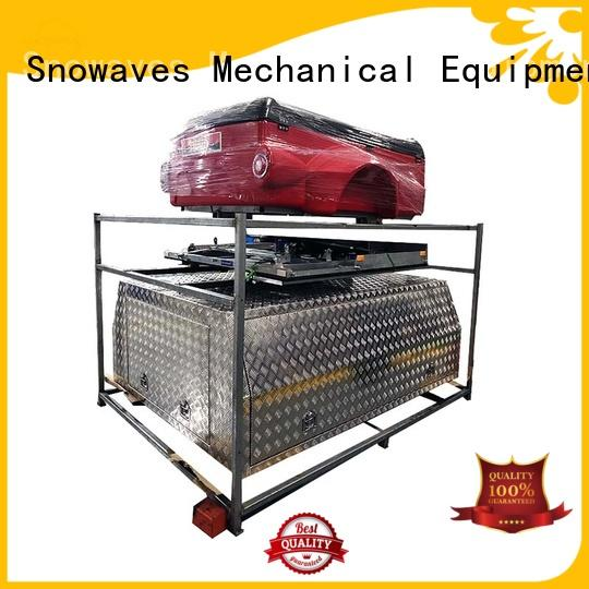 Snowaves Mechanical hot-selling small aluminium tool box pickup for camping