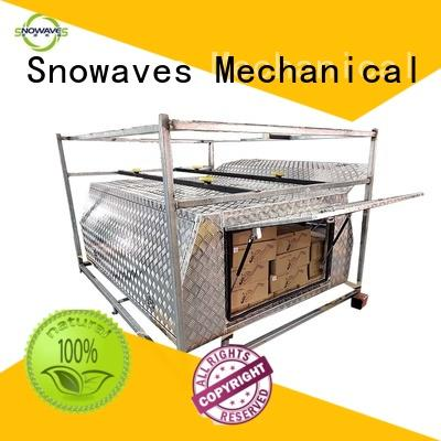 Snowaves Mechanical box aluminum trailer tool box for sale for car