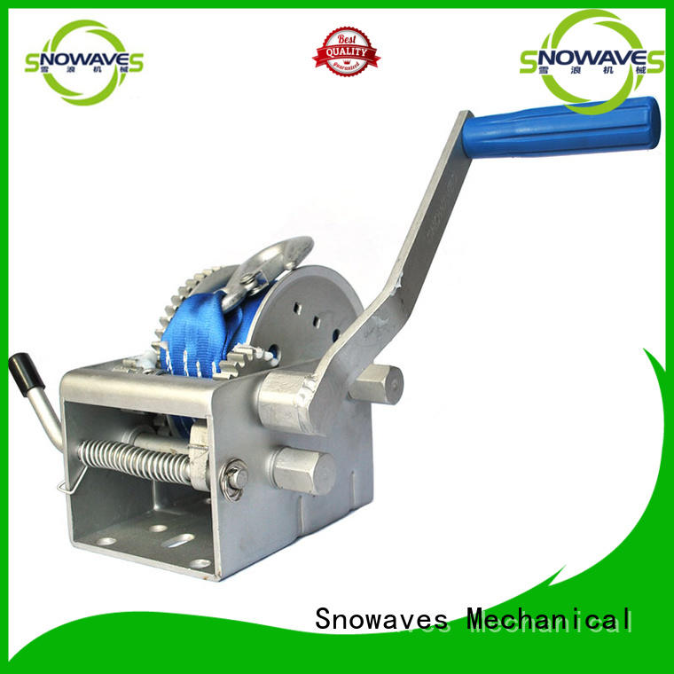 Snowaves Mechanical Top Marine winch Suppliers for camping