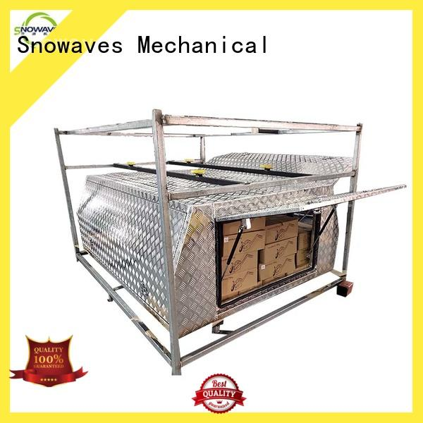 Snowaves Mechanical small aluminium tool box pickup for picnics