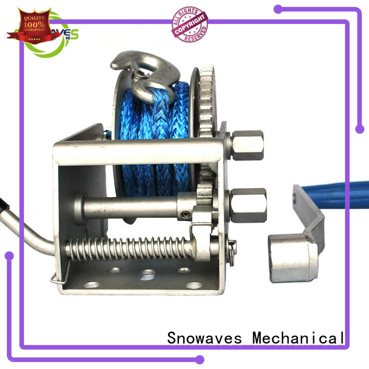 trailer Marine winch speed for one-way trips Snowaves Mechanical