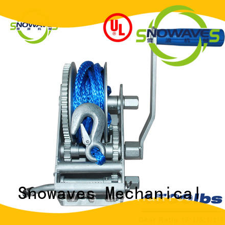 Snowaves Mechanical single marine winch for business for one-way trips