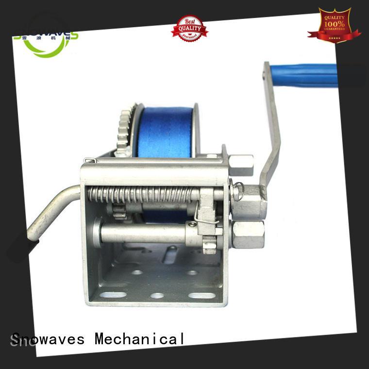 Trailer hand winch 15:1/4.5:1/1:1(3 speed) 1500kg pulling SW3300