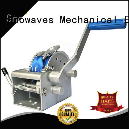 pulling electric boat winch long-term-use for trips Snowaves Mechanical